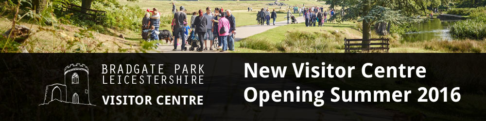 Banner for the Opening of the Visitor Centre