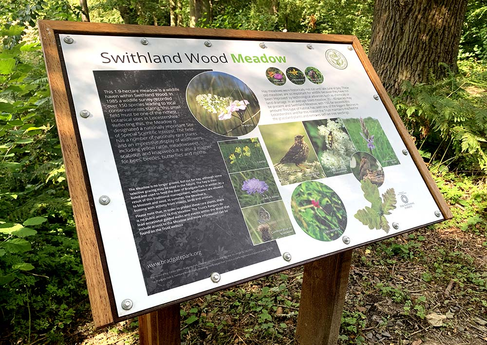 Swithland Meadow Interpretation Board