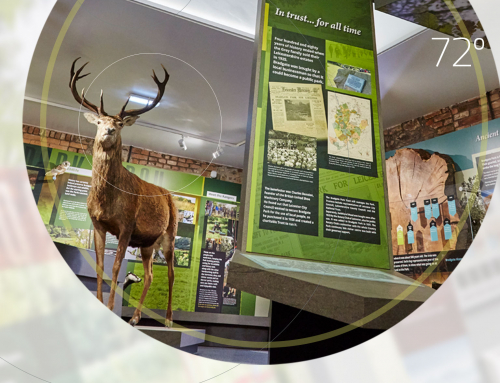Bradgate Park Visitor Centre – Information Design